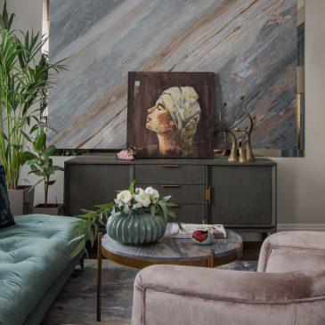 Журнал ELLE Decoration: «Московская квартира 96 кв м в классическом стиле»