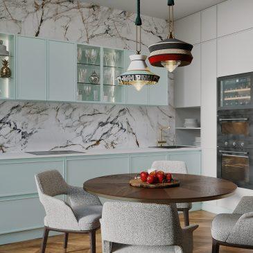 Портал InMyRoom: Яркий, сочный, но при этом элегантный проект квартиры 109 м²